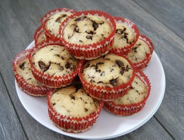 muffin navideño