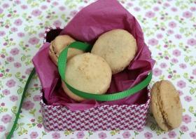Macarons chocolate y coco