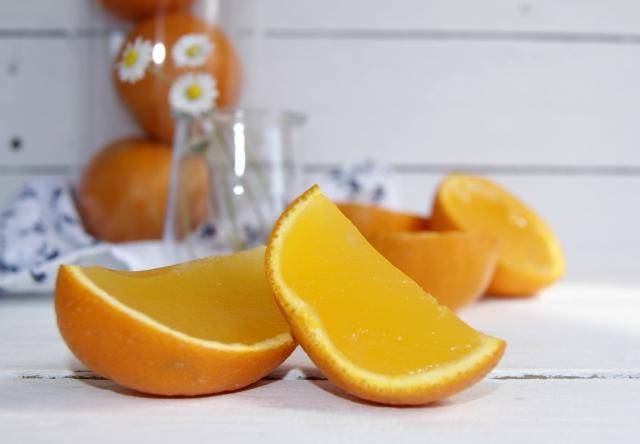 gelatina naranja 1