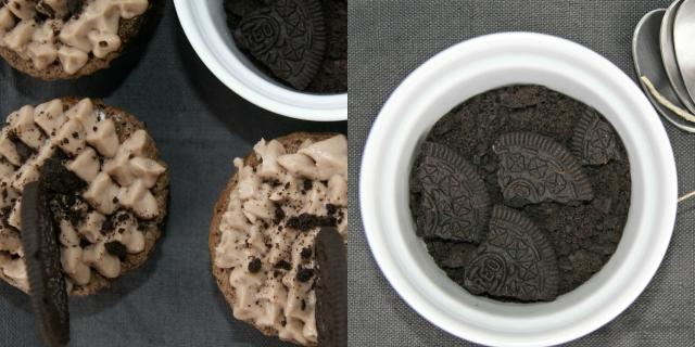 Cupcake Oreo  Collage 1