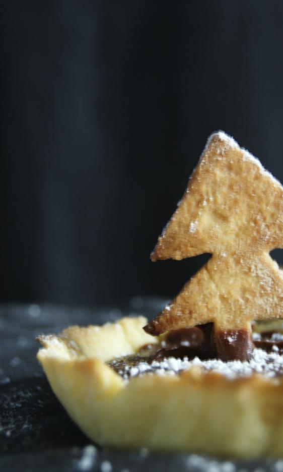 Tartaleta para Navidad